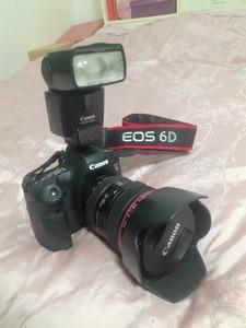 佳能 EOS 6D 机身 EF 24-105镜头 九成八新 自用 无任何问题