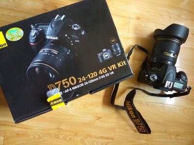 出售一 Nikon  D75O+24-120mm 套机