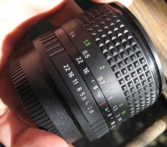 nikon尼康口东德国蔡司耶拿Carl Zeiss Jena 28 F2.8手动广角镜头