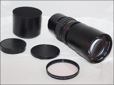 禄莱 Rollei 350/5.6 PQ HFT 长焦镜头 带光罩 滤镜