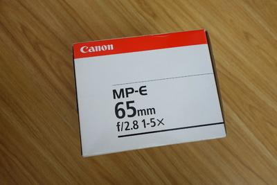 佳能 MP-E 65mm f/2.8 1-5X 超级微距