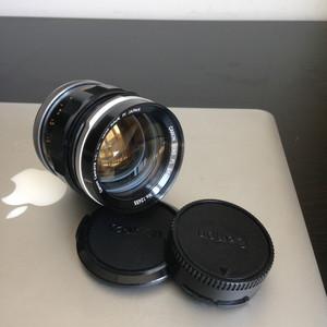 佳能 canon FL 58mm 1:1.2 大光圈手动镜头