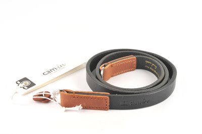 CAM-IN 牛皮相机背带 圆孔型 LCS-038 长75CM