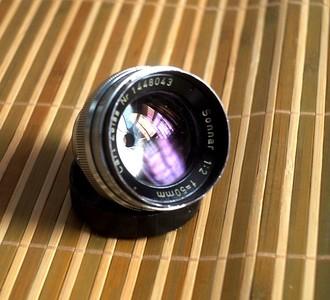 Carl Zeiss Sonnar 50mm/2