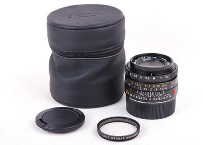 徕卡Summicron-M 35/2 E39 ASPH 皮桶 #hk7451