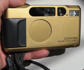 contax t2康太时蔡司全幅135胶卷旁轴相机镀金zeiss 38 F2.8