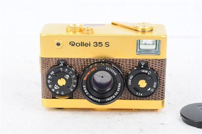 Rollei禄来 35s 35S 60周年纪念版 土豪金 成色不错 收藏把玩