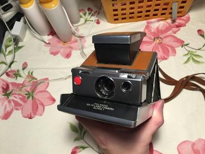 宝利来/Polaroid sx-70 Alpha1情书同款 九成新出!价格可以小刀