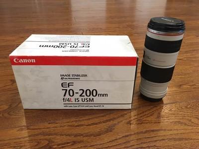 佳能 EF 70-200mm f/4L IS USM(小小白IS)