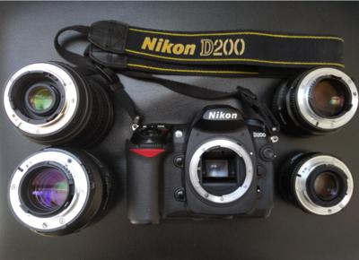 尼康 D200+J5+5头