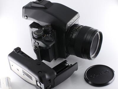 康泰时 Contax 645 80/2镜头胶片背 手柄 套机