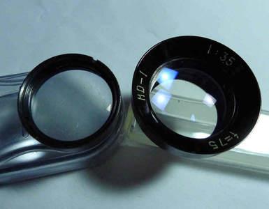 很新牡丹120双反相机用(4A,4B,4C也可)摄影镜头(前后各一组)=80元