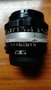 手动镜头尼康auto-sc50 1.4