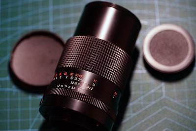 东蔡司 Carl Zeiss Jena 135 3.5 m42 镜头 后期电子触点版