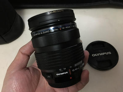 [上海可面交]国行99.99新奥林巴斯12-40mm f2.8 pro, 送BW超薄UV
