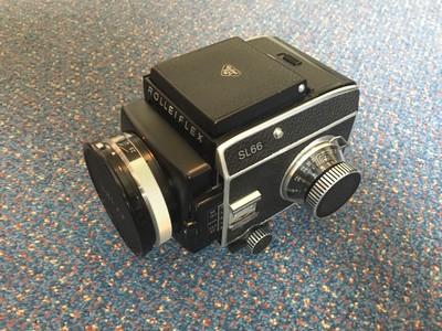 Rolleiflex SL66 外加测光顶 蔡司 80 2.8