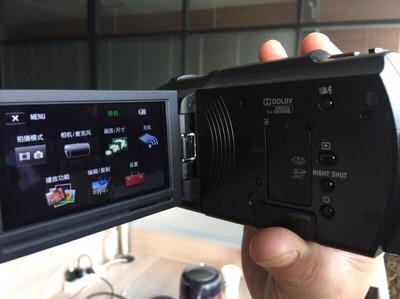 国行95新索尼FDR-AX30 4K摄像机