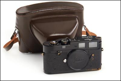 极罕见 第一批黑漆!徕卡 Leica M2 Black Paint 带皮套