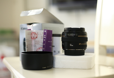 佳能 EF 50mm f/1.4 行货99新