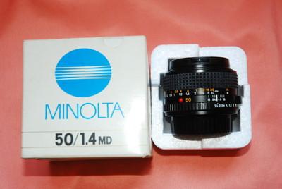 美能达MD50mm/F1.4手动定焦头
