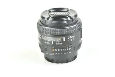 95新 尼康 AF 28mm f/2.8D