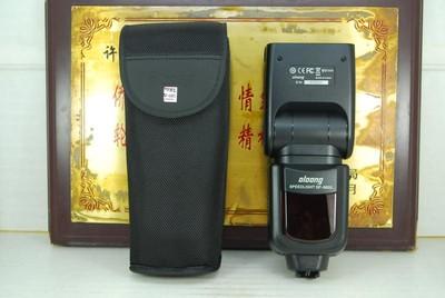 99新 索尼口 沃龙/oloong SP-660S 手动闪光灯 机顶灯 光引闪