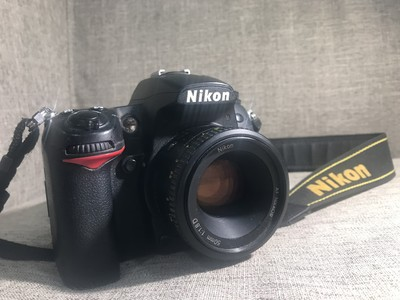尼康 D7000+50-1.8镜头,附送配件