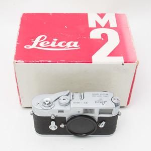 Leica徕卡莱卡 M2 135胶卷旁轴单反相机 银色单机身 95新 NO:8636