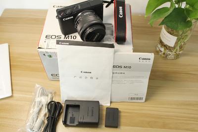 99新国行佳能 EOS M10 单反微单相机 15-45 STM镜头套机