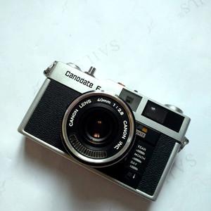 佳能 Canodate E—135胶卷手动对焦金属旁轴相机
