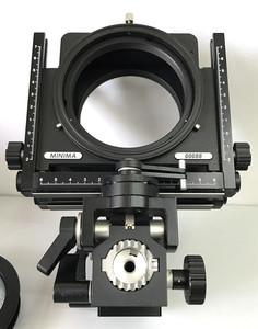 利尔二型的中画幅技术相机利尔 全新 6x7  支持置换