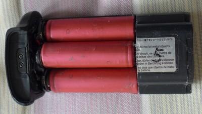 佳能1DS2 1D2 系列 NP-E3 改装18650锂电池加工改装费