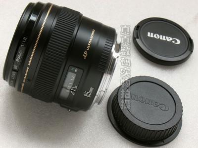 成色极好 原装 正品 佳能EF85mm/F1.8定焦镜头 #3293