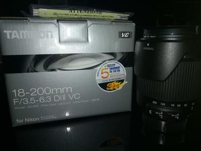 腾龙 18-200mm F/3.5-6.3 Di II VC(B018) (尼康口)