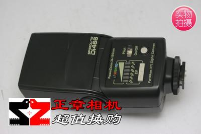 95新 日清 Di466N 尼康口 适用尼康单反相机 二手闪光灯