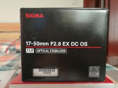 适马 17-50mm f/2.8 EX DC OS HSM (佳能口)