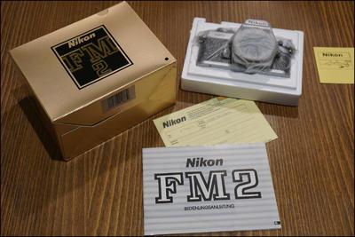 尼康 Nikon FM2 银色机身 带包装