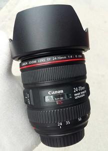 98新佳能 EF 24-70mm f/4L IS USM成色不错 可置换回收!