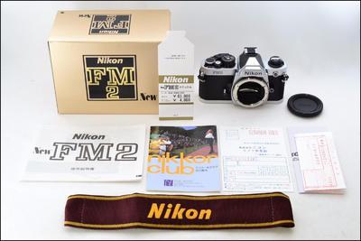 尼康 Nikon FM2 银色机身 带包装(日本本土货)