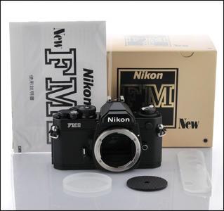尼康 Nikon FM2 黑色机身 带包装