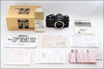 全新收藏 尼康 Nikon FM2 黑色机身 带包装(日本本土货)