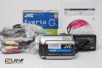 98新JVC GZ-MG175插卡摄像机(BG12260003)【已成交】