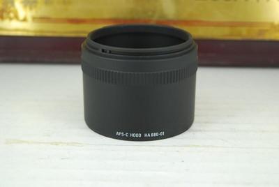 适马 HA680-01 遮光罩 半幅转接环 105mm F2.8 OS 百微镜头转接筒