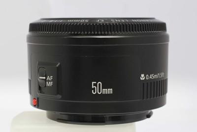 【标准定焦镜头】佳能 EF 50/1.8 II(NO:6558)