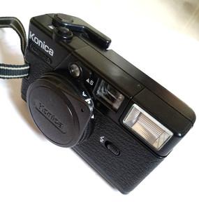柯尼卡 Konica--c35 EF3定焦金属旁轴傻瓜相机