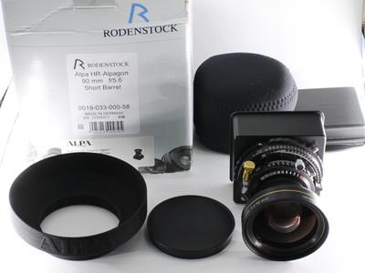 阿尔帕 ALPA 罗顿斯德 HR 90/5.6 最新款金圈数字镜头