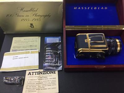 哈苏 HASSELBLAD 2000FC/M 纪念版金机