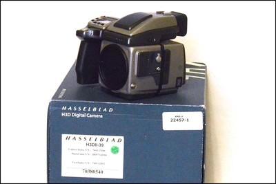 哈苏 Hasselblad H3DII-39 中画幅机身 带包装(快门7.8万)