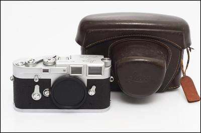 徕卡 Leica M3 单拨 经典旁轴 带皮套