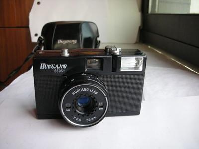 很新湖光牌旁轴相机,收藏使用,送皮套